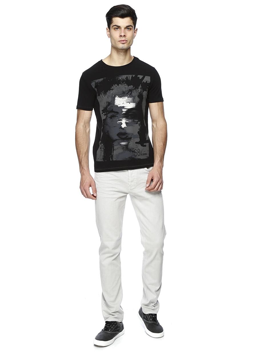 38-32 Taş Melanj Loft Klasik Pantolon Erkek Giyim