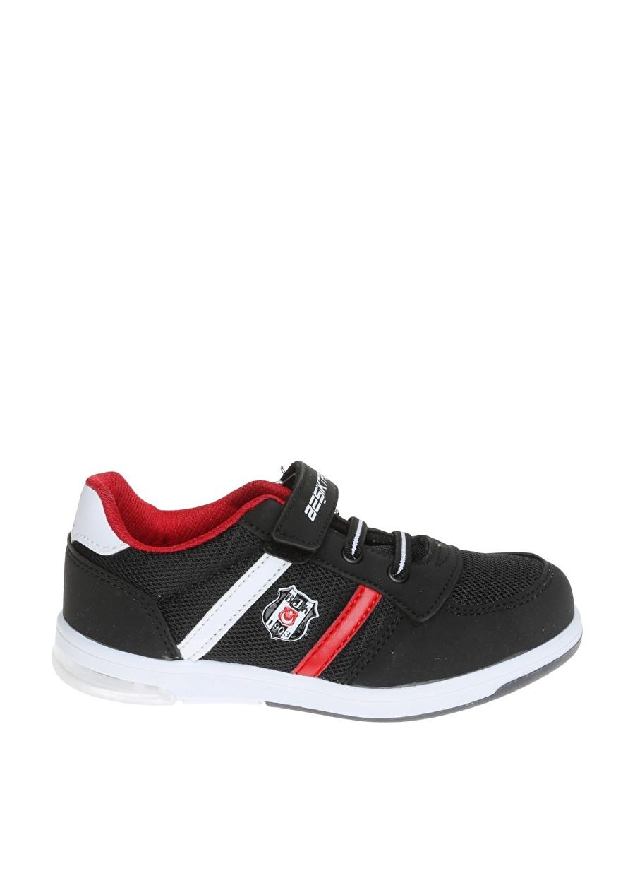 30 Erkek Siyah Kinetix Yürüyüş Ayakkabısı Çanta Çocuk Ayakkabıları Koşu Antrenman
