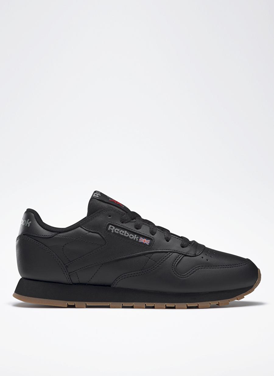 37.5 Siyah Reebok Cl Lthr Lifestyle Ayakkabı Spor Kadın Sneakers