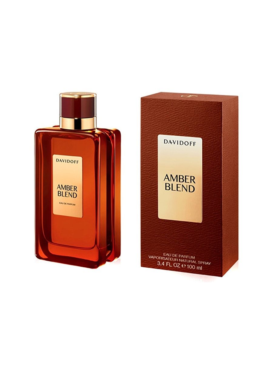 Standart unisex Renksiz Davidoff Amber Blend Edp 100 ml Unisex Parfüm Kozmetik Erkek