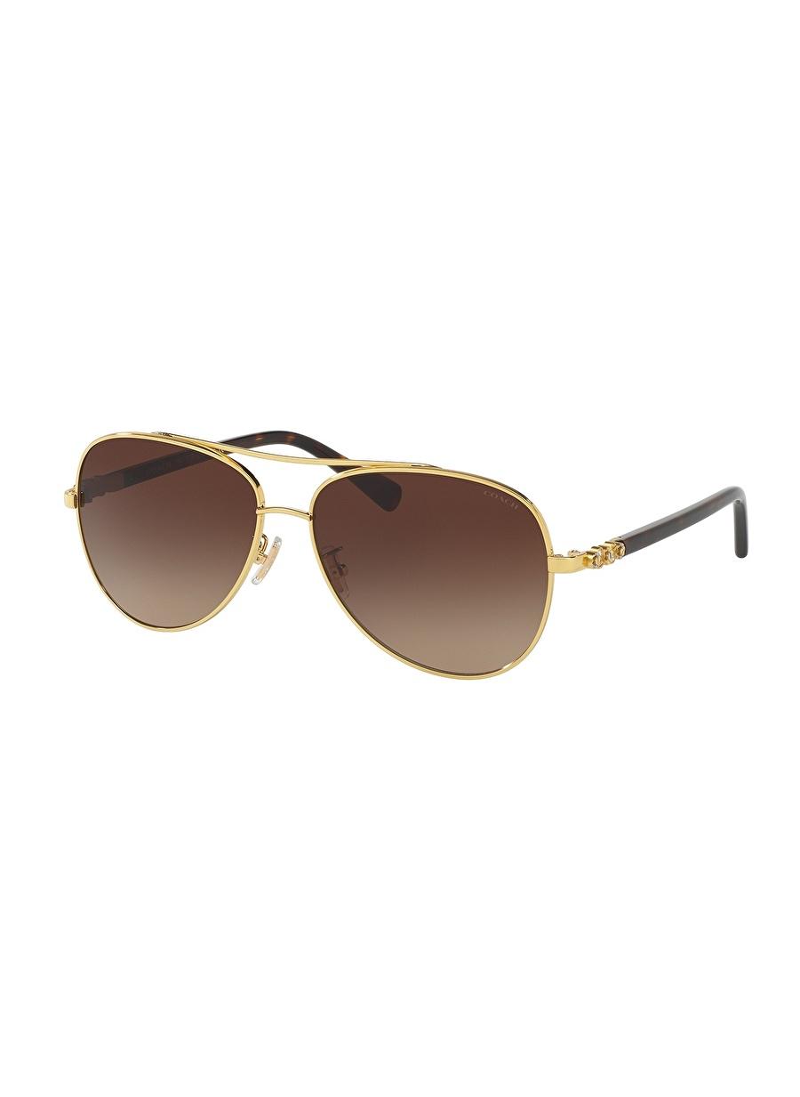Standart Renksiz Coach 0HC7072B Güneş Gözlüğü Kadın Aksesuar Gözlük