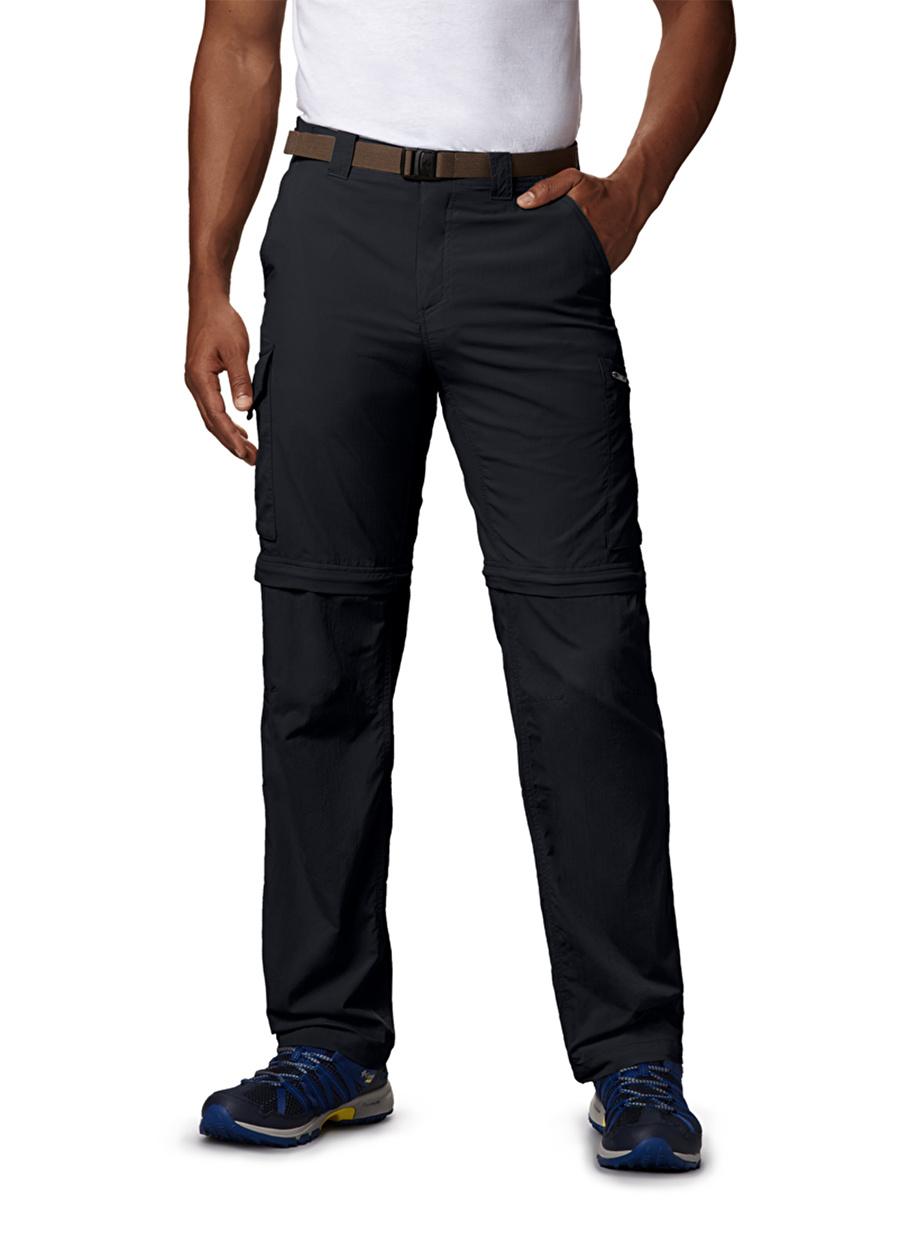 34 Erkek Siyah Columbia Am8004 Silver Ridge Convertible Pant Outdoor Pantolonu Spor Ürünler