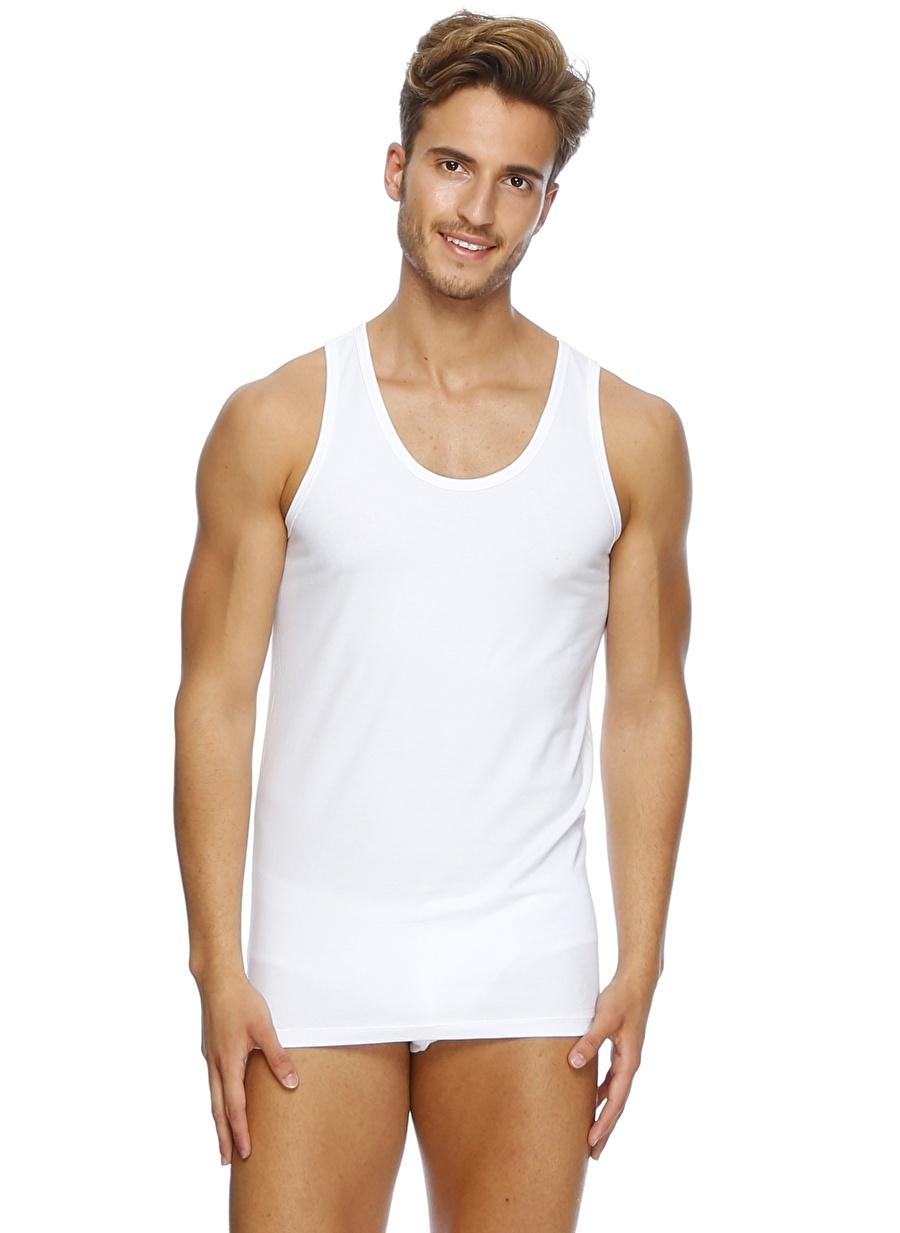 S Beyaz Er_Os İç Giyim Atlet Erkek AtletFanila