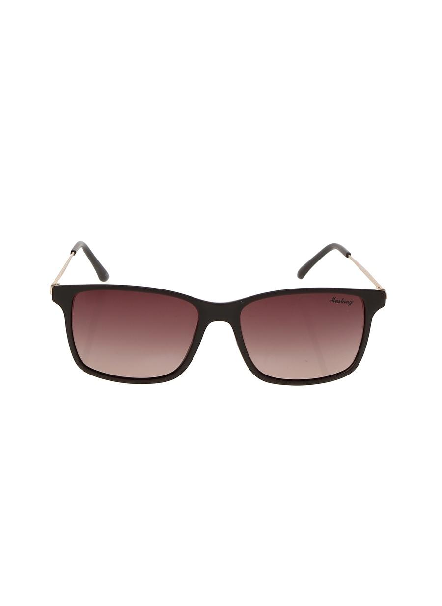Standart Renksiz Mustang Güneş Gözlüğü Erkek Aksesuar Gözlük