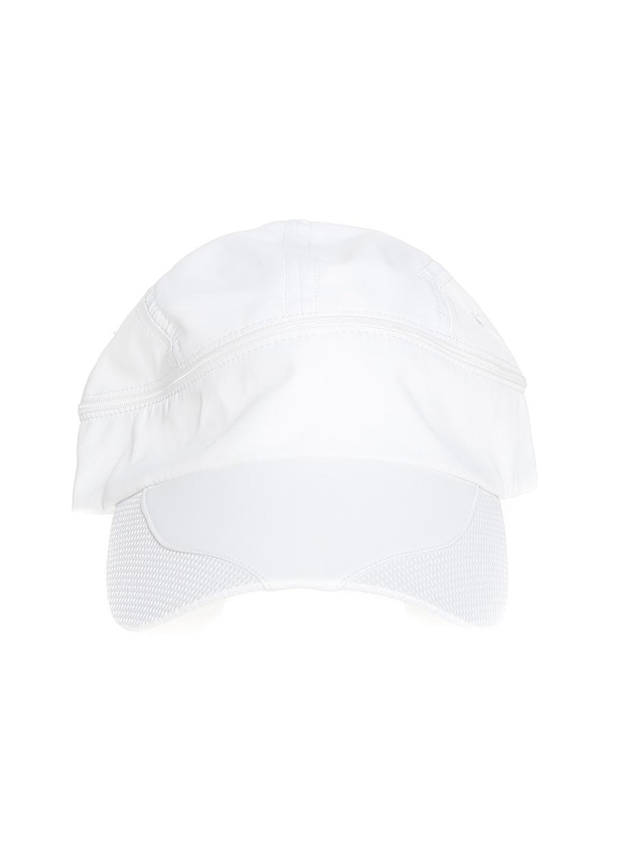 Standart Beyaz Fonem Erkek Fermuarlı Şapka Aksesuar ŞapkaKasket