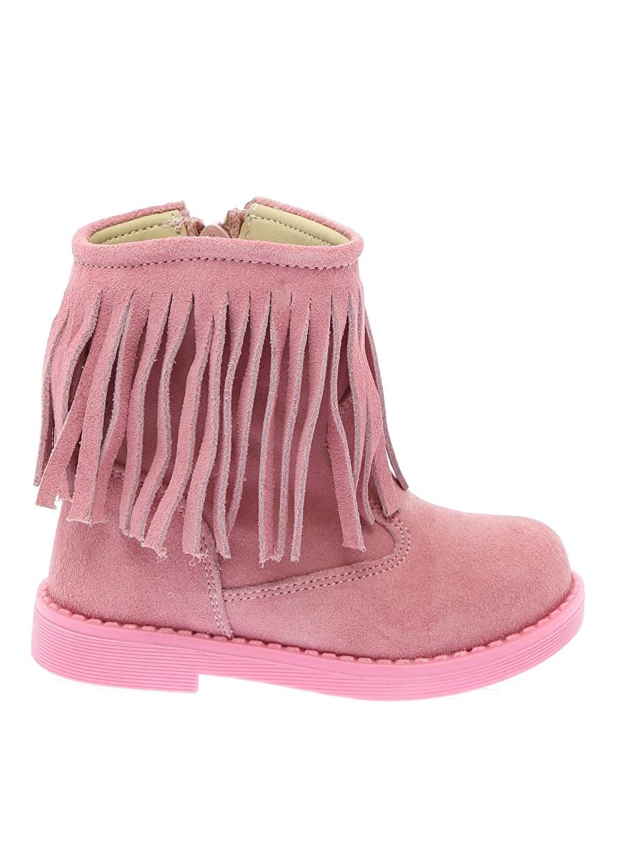 22 Kadın Pembe Mammaramma Kız Çocuk Bot Bebek Ayakkabı