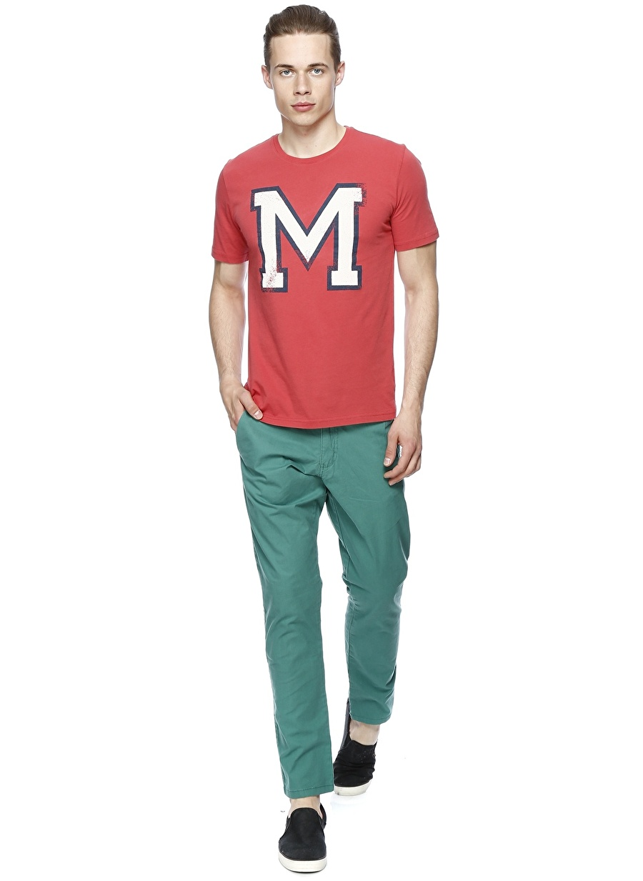 31-34 Açık Yeşil Mustang Kargo Şort Erkek Spor Giyim