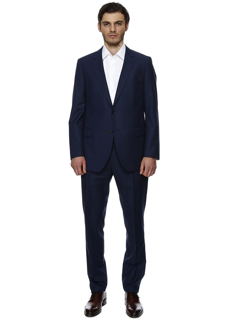 52-4 Koyu Lacivert George Hogg Takım Elbise Erkek Giyim