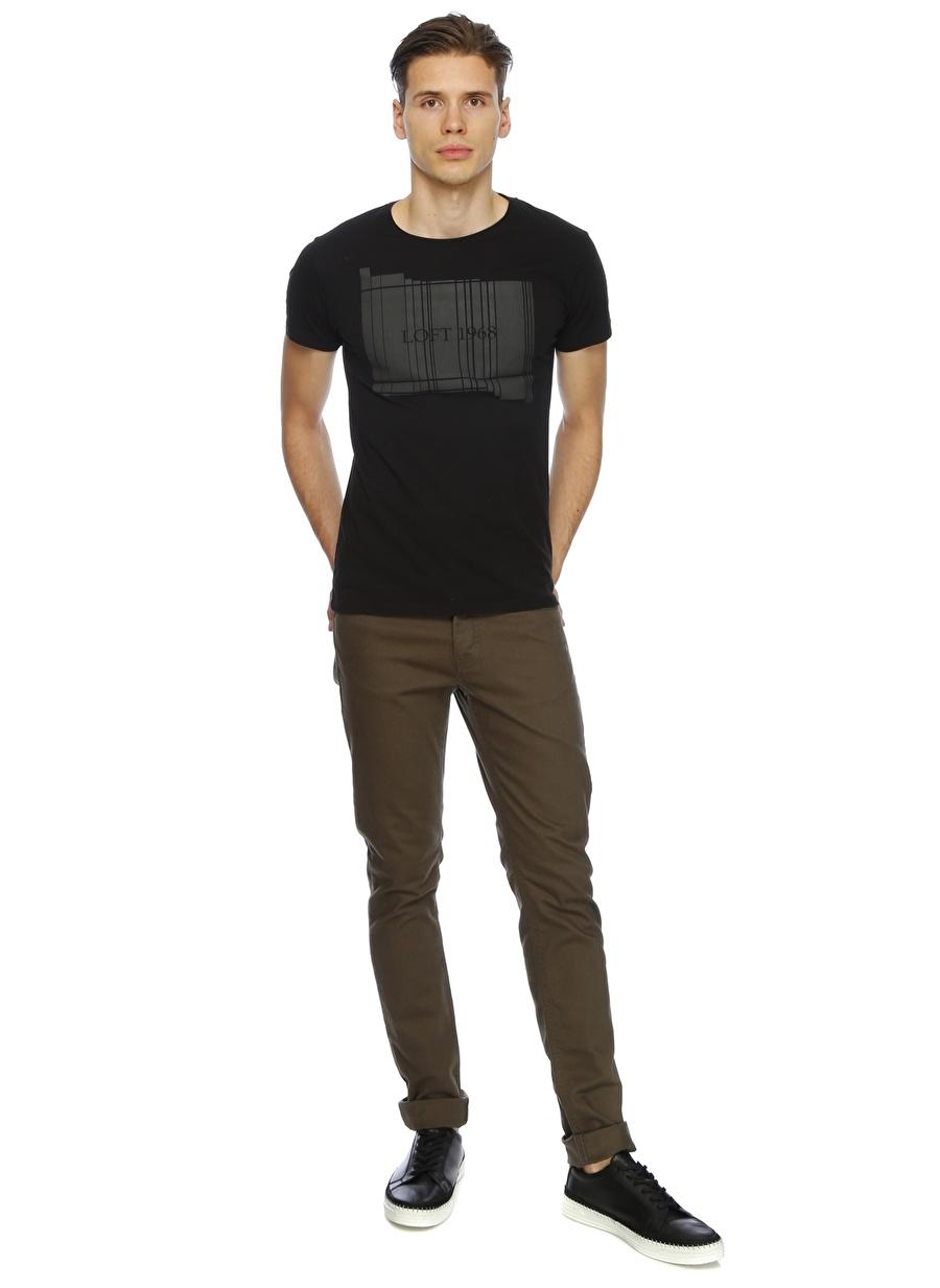 28-32 Haki Loft Klasik Pantolon Erkek Giyim