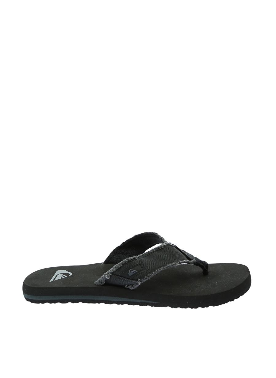 42 Siyah Quiksilver Terlik Ayakkabı Çanta Erkek Sandalet