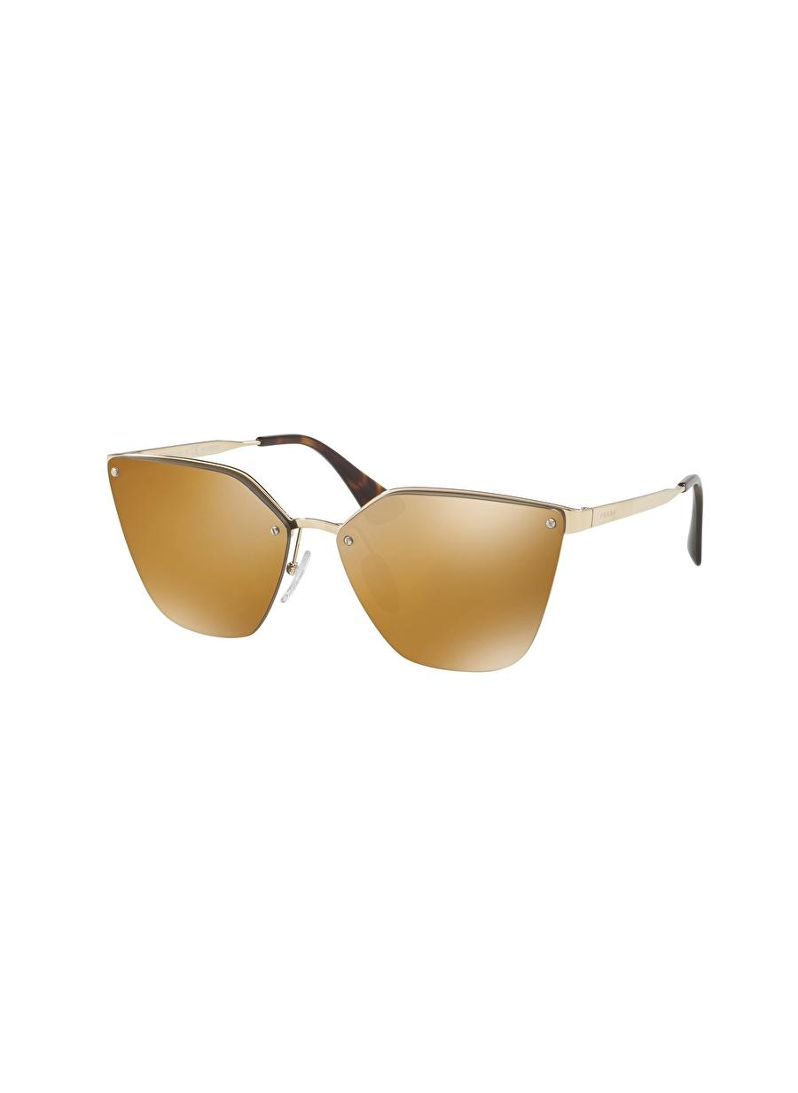Standart Renksiz Prada 0PR 68TS Güneş Gözlüğü Kadın Aksesuar Gözlük