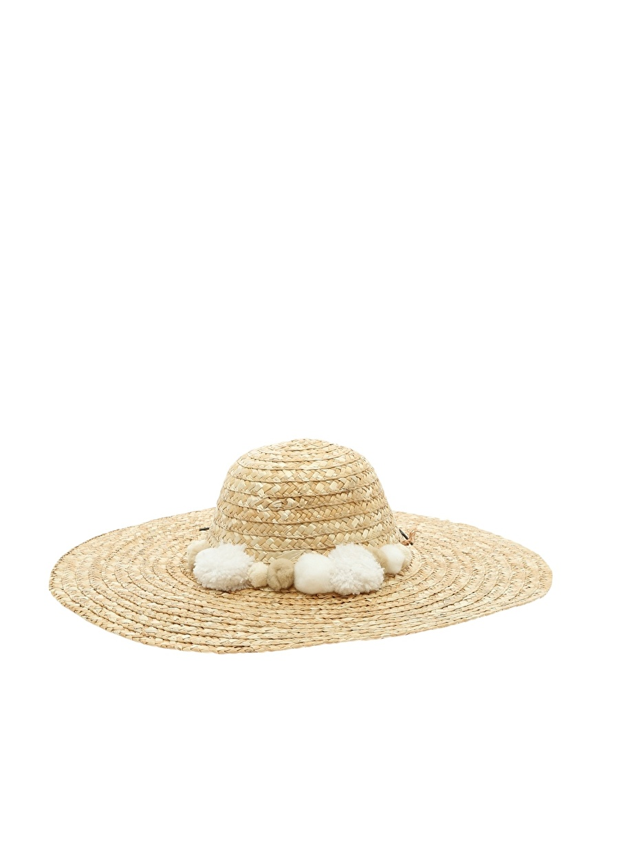 M Açık Beyaz Boyner Fresh Şapka Kadın Aksesuar
