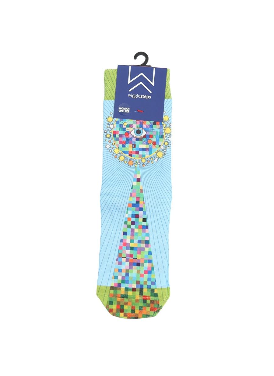 Standart Açık Sarı Wigglesteps Soket Çorap Kadın İç Giyim