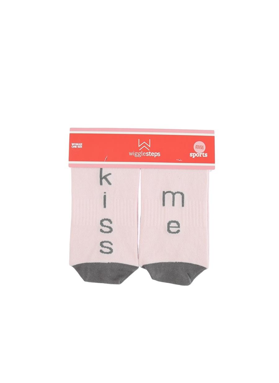 Standart Gri Wigglesteps Soket Çorap Kadın İç Giyim