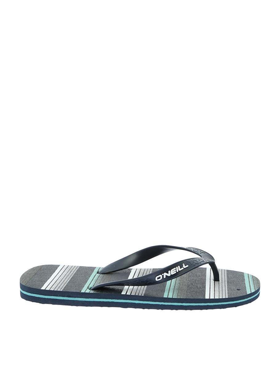44 Mavi - Buz Oneill Plaj Terliği Ayakkabı Çanta Erkek Sandalet Terlik