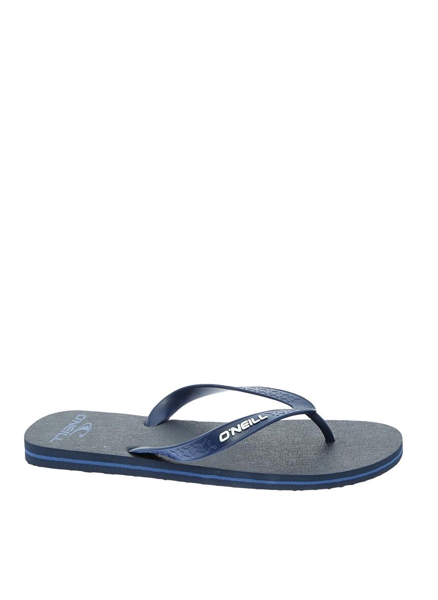 42 Koyu Lacivert Oneill Plaj Terliği Ayakkabı Çanta Erkek Sandalet Terlik