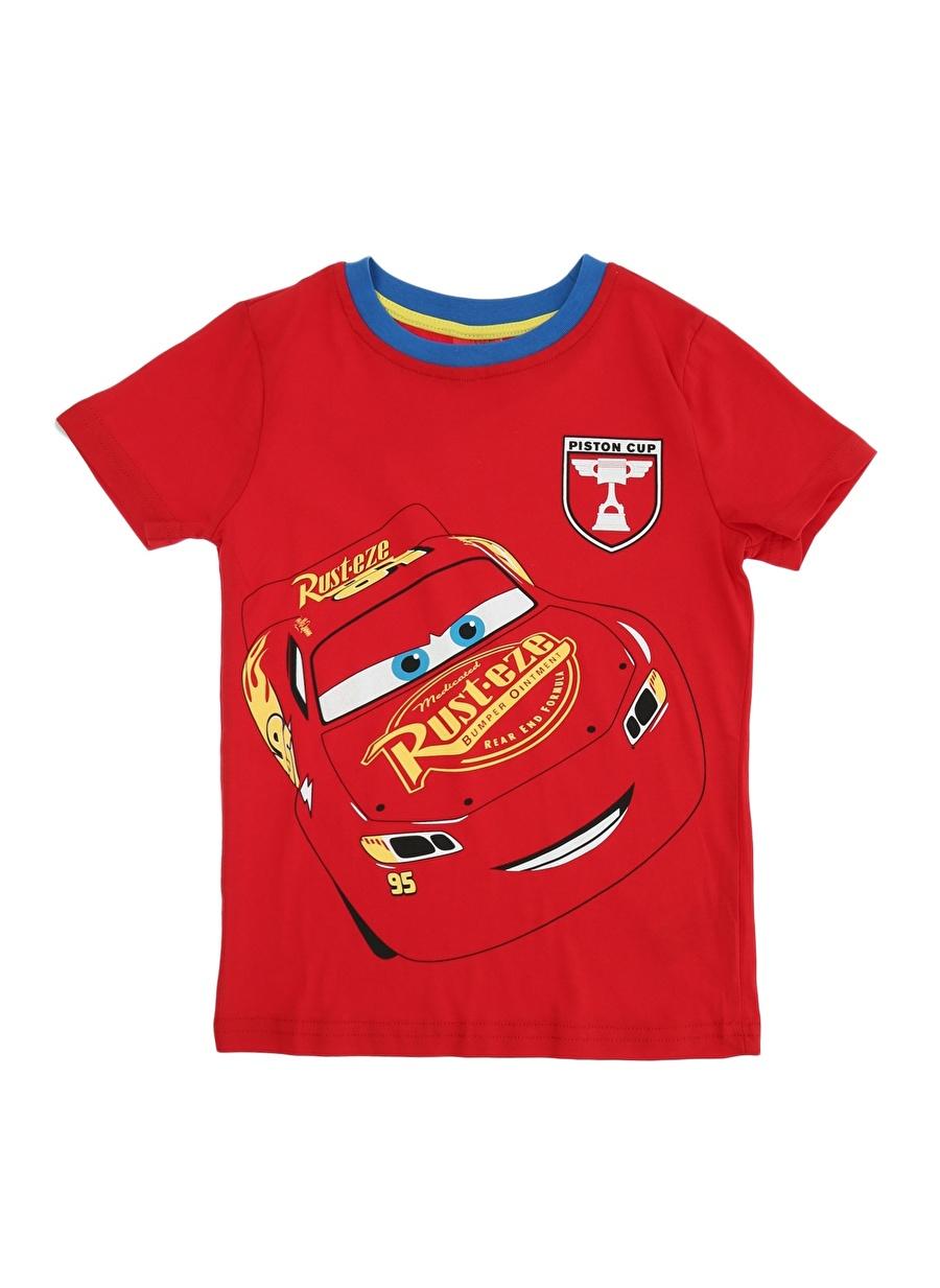 7 Yaş Erkek Kırmızı Limon T-Shirt Çocuk Lisanslı Ürünler