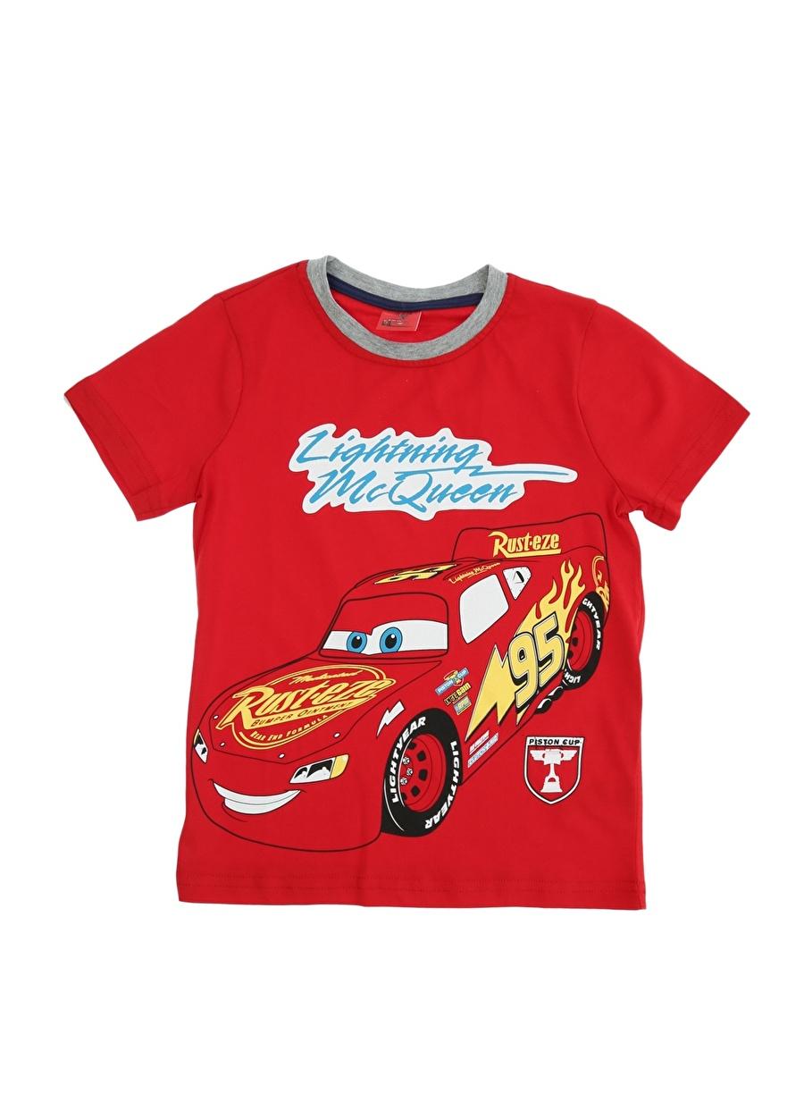 8 Yaş Erkek Kırmızı Limon T-Shirt Çocuk Lisanslı Ürünler