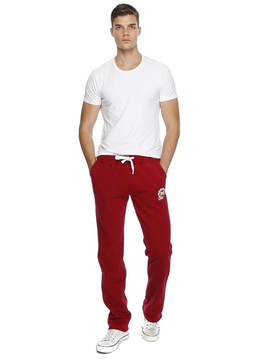 XL Şarap T-Box Bordo Sweatpant Spor Erkek Giyim Eşofman Tayt