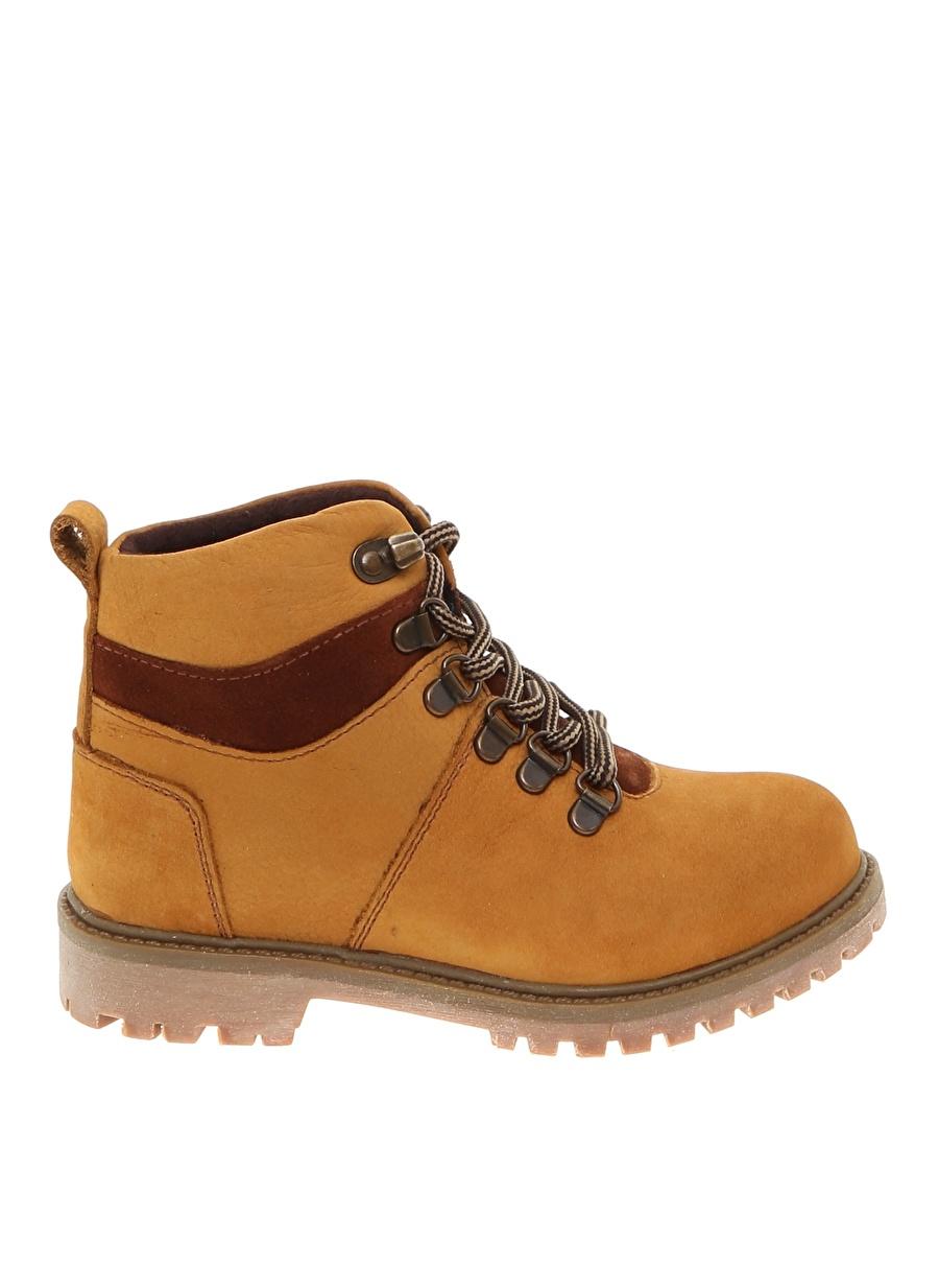 33 Sarı Limon Erkek Çocuk Tarçın Bot Ayakkabı Çanta Ayakkabıları Çizmeler