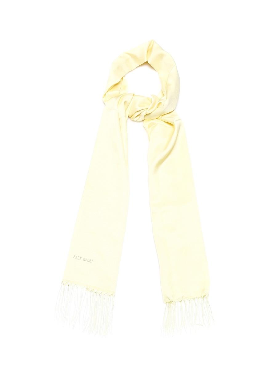 Aker Eşarp Açık Sarı Şal