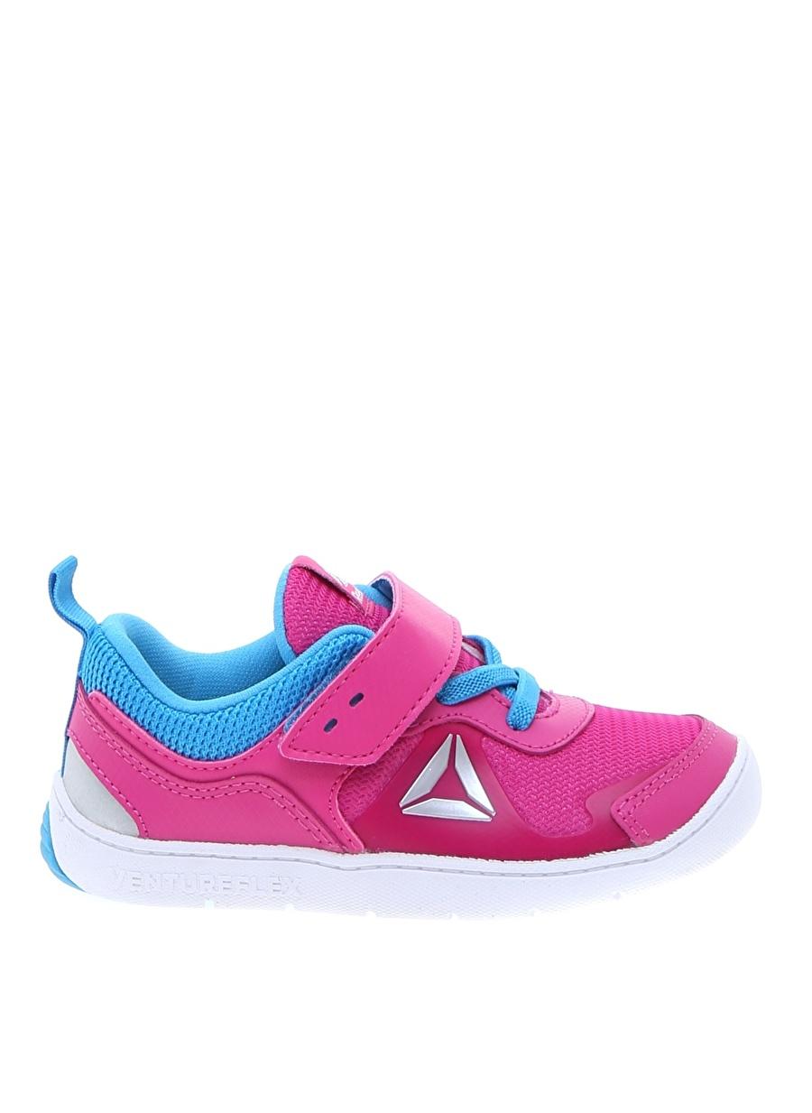 22 Kadın Pembe - Mavi Reebok Antrenman Ayakkabısı Çocuk