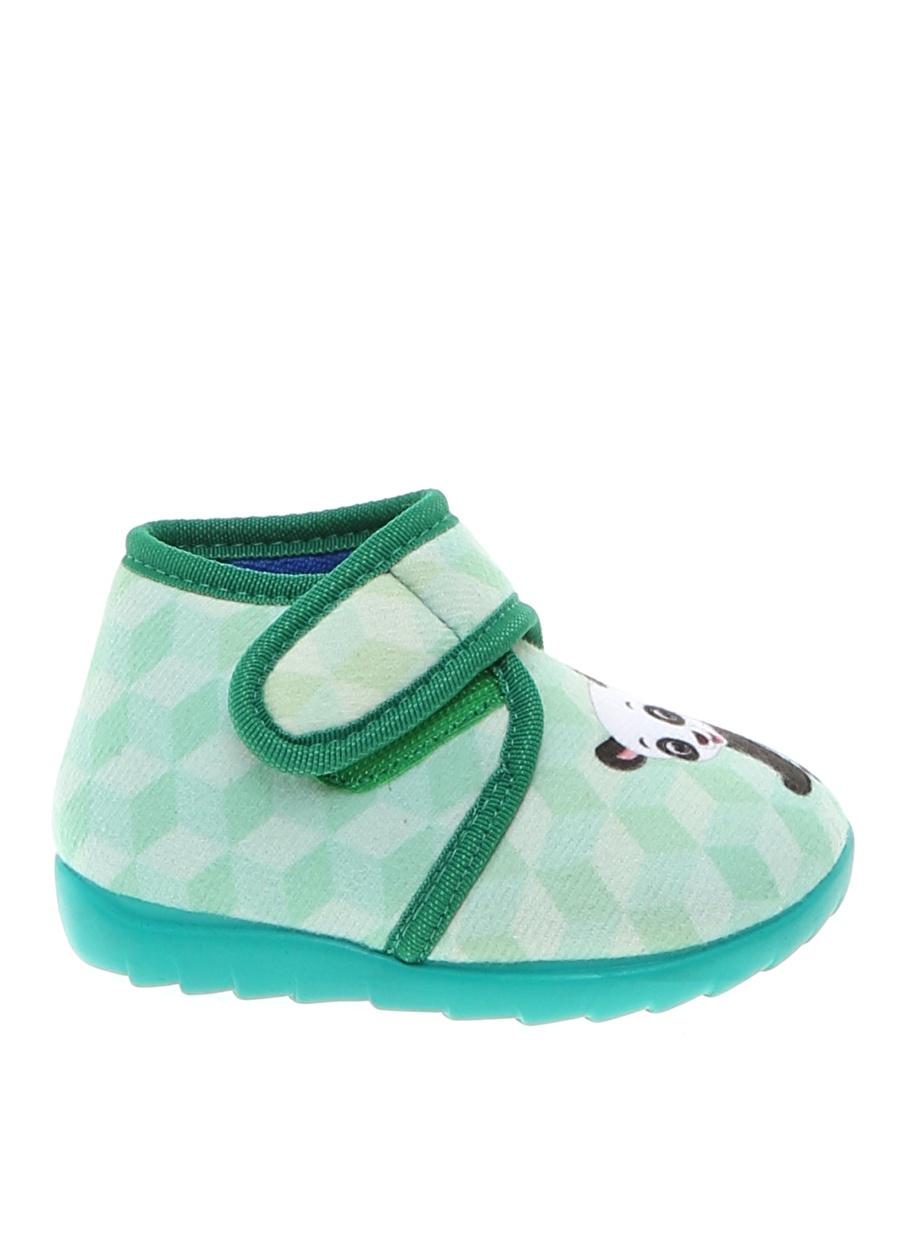 22 Kadın Pembe Limon Kız Çocuk Ev Ayakkabısı Pijama Giyim