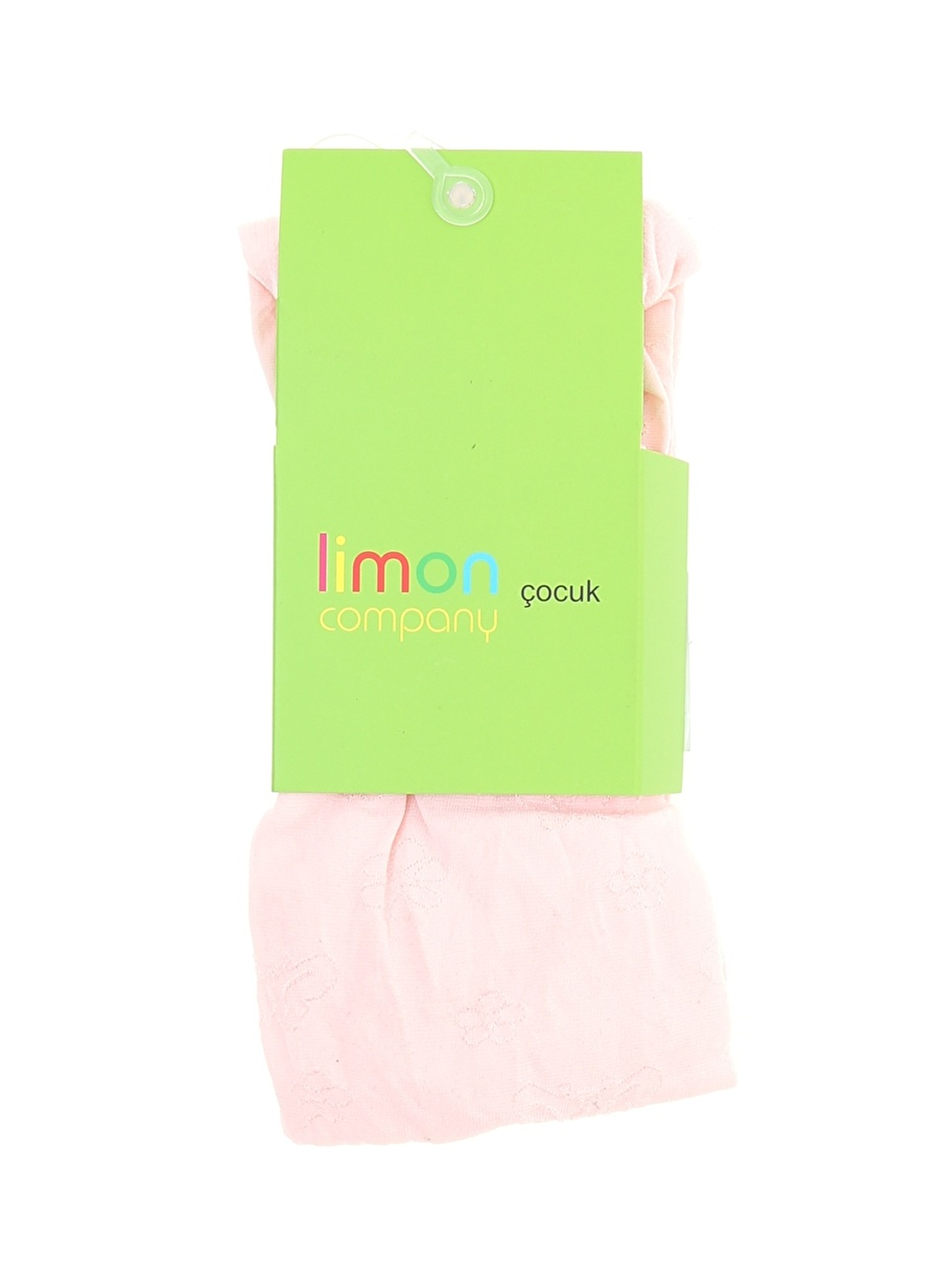 8 Yaş Kadın Pudra Limon Külotlu Çorap Çocuk Ev İç Giyim