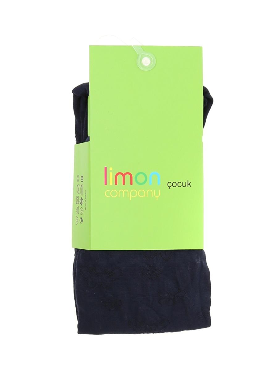 10 Yaş Kadın Koyu Lacivert Limon Külotlu Çorap Çocuk Ev İç Giyim