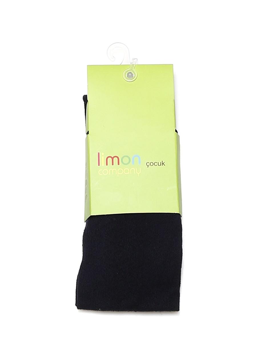 6 Yaş Kadın Koyu Lacivert Limon Külotlu Çorap Çocuk Ev İç Giyim