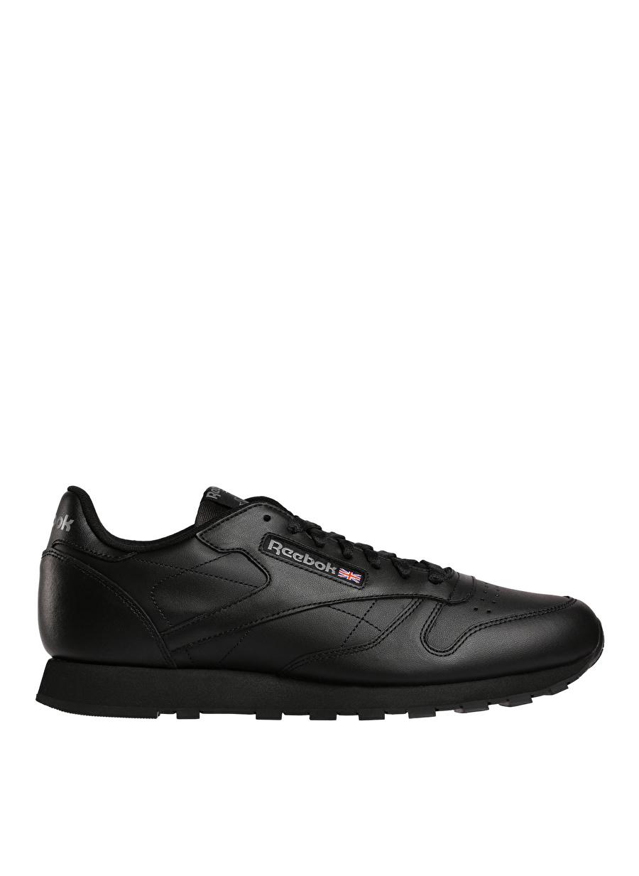 42 Siyah Reebok Classic Leather Lıfestyle Ayakkabı Çanta Erkek Sneaker