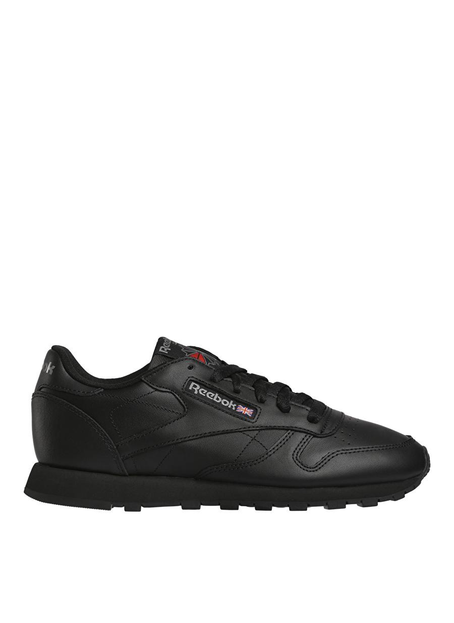 37.5 Siyah Reebok CL Leather Lıfestyle Ayakkabı Spor Kadın Sneakers