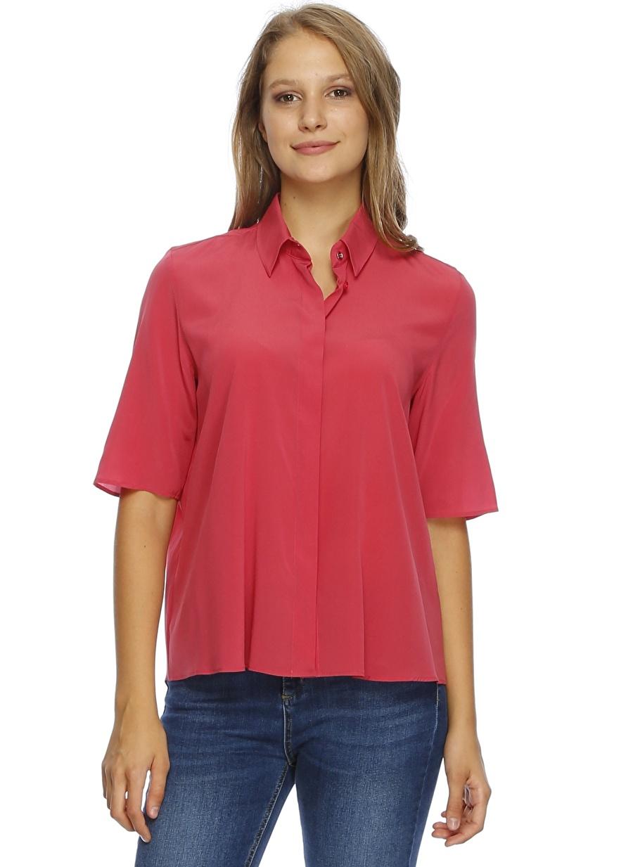 L Pembe Beymen Club Gömlek Kadın Giyim Bluz