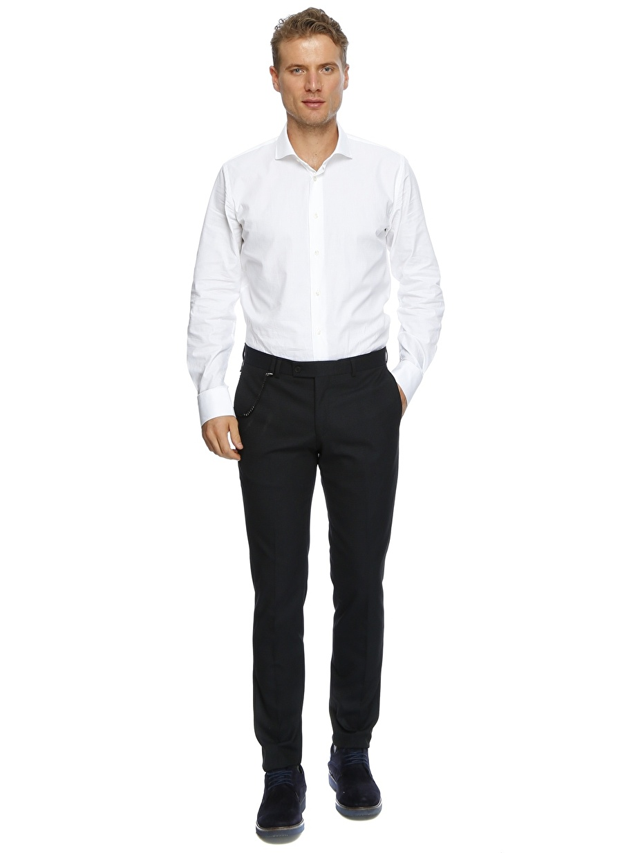 38 Koyu Lacivert Ds Klasik Pantolon Erkek Giyim