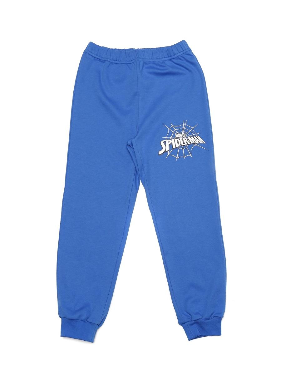 9 Yaş Mavi Limon Erkek Çocuk Pijama Takımı Lisanslı Ürünler