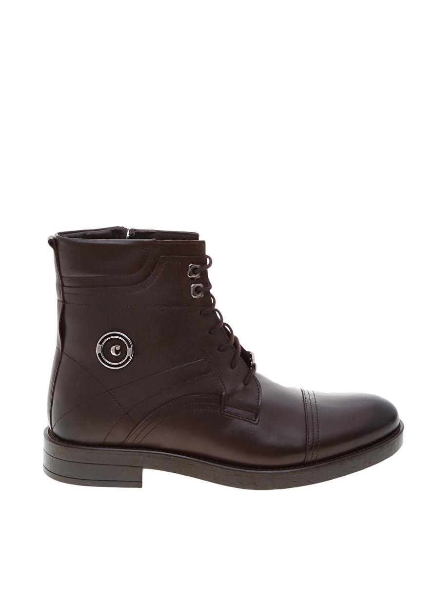 40 Kahve Cacharel Erkek Deri Bot Ayakkabı Çanta Çizme