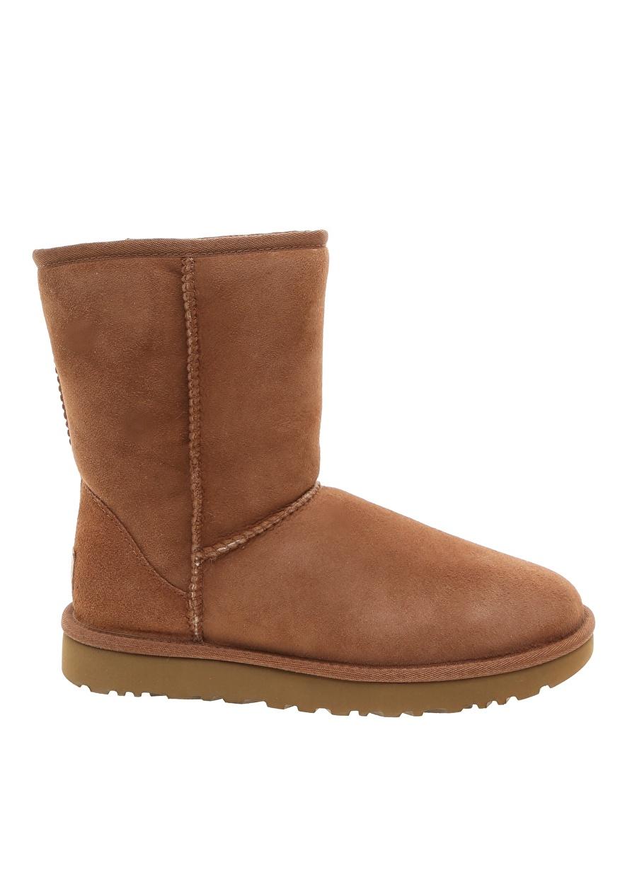 37 Kahve Ugg Bot Ayakkabı Çanta Kadın Çizme
