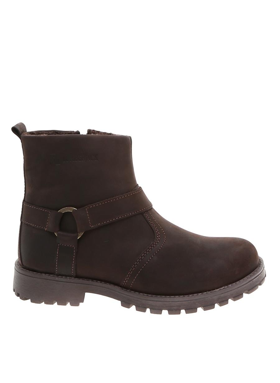 37 Erkek Kahve Lumberjack Kahverengi Bot Ayakkabı Çanta Çocuk Ayakkabıları Çizmeler