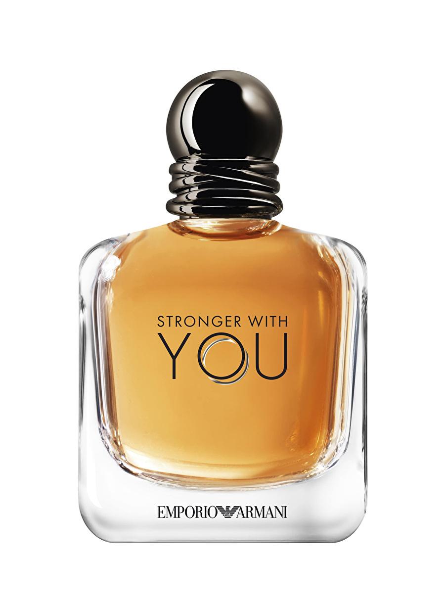 Standart Renksiz Armani Emporio Stronger With You Edt 100 ml Erkek Parfüm Kozmetik