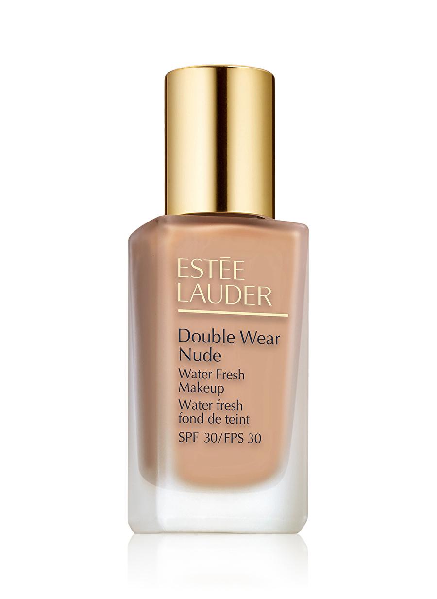 Standart Kadın Renksiz Estee Lauder Double Wear Nude Water Fresh 2C3 Fresco 30 ml Fondöten Kozmetik Makyaj Yüz Makyajı