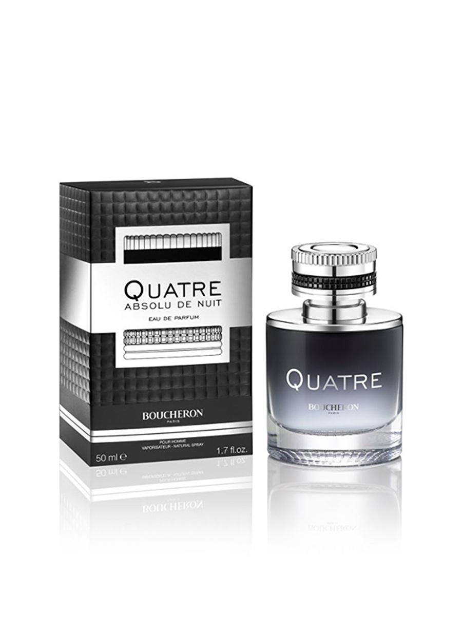 Standart Renksiz Boucheron Quatre Absolu De Nuit Pour Homme Edp 50 ml Parfüm Kozmetik Erkek