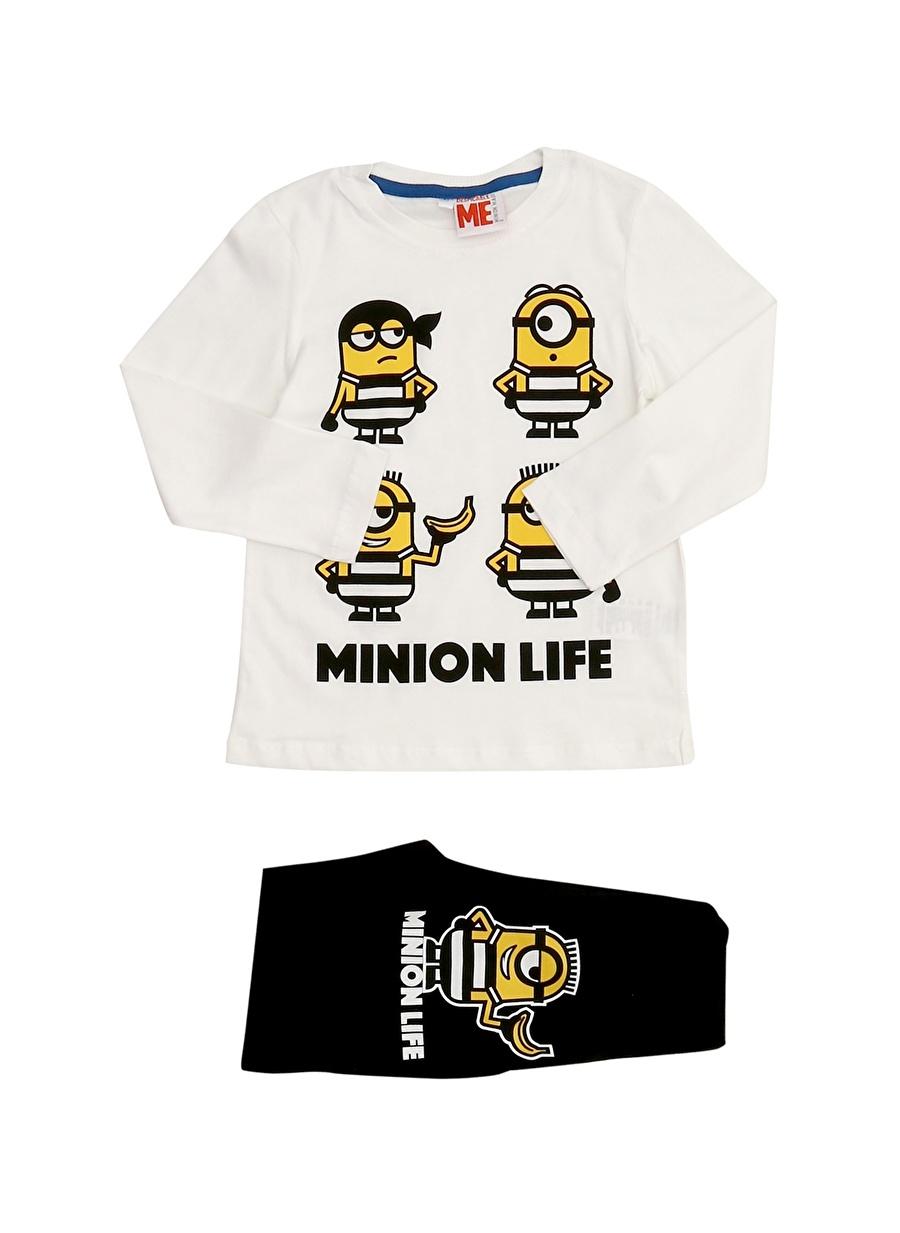4 Yaş Erkek Çok Renkli Limon Pijama Takımı Çocuk Ev İç Giyim