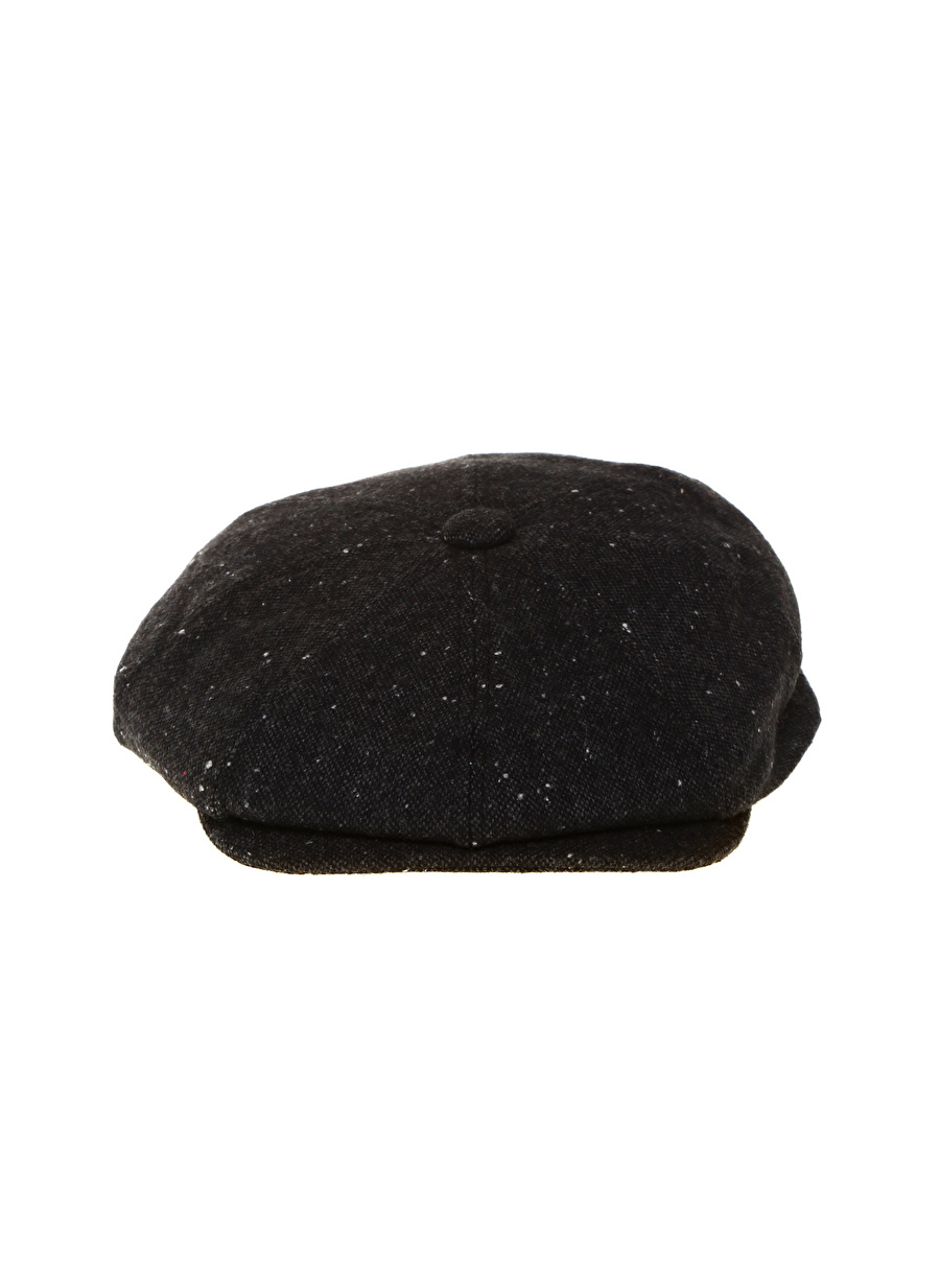 Standart Siyah Fonem Şapka Erkek Aksesuar ŞapkaKasket