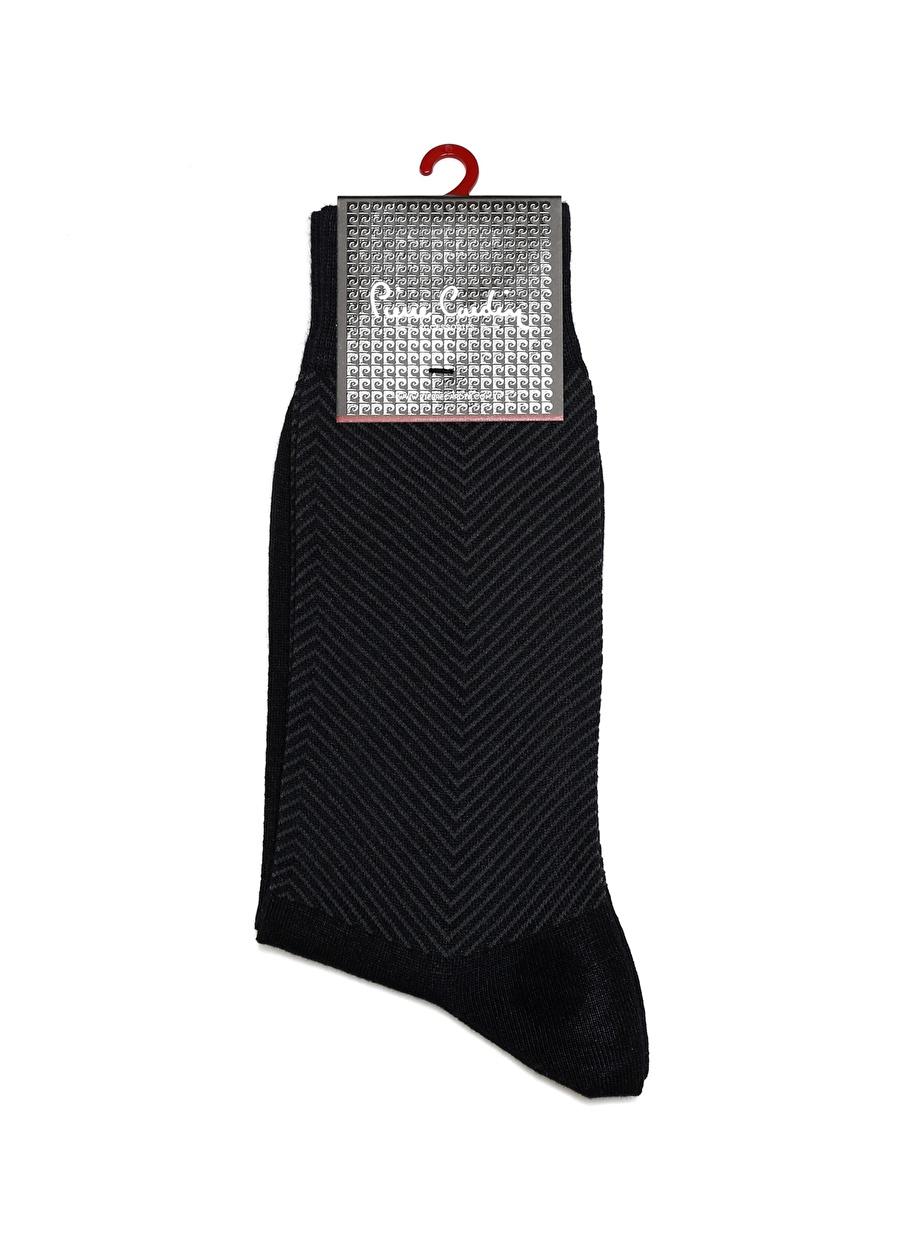 Standart Koyu Lacivert Pierre Cardin Çorap Erkek Pijama Ev Giyim