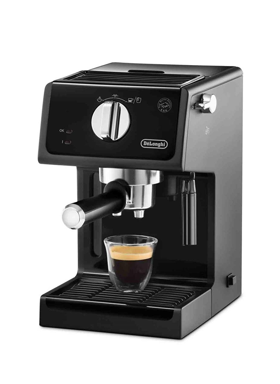 Standart unisex Renksiz Delonghi ECP 3121 Siyah Kahve Makinesi Ev Elektrikli Aletleri Küçük
