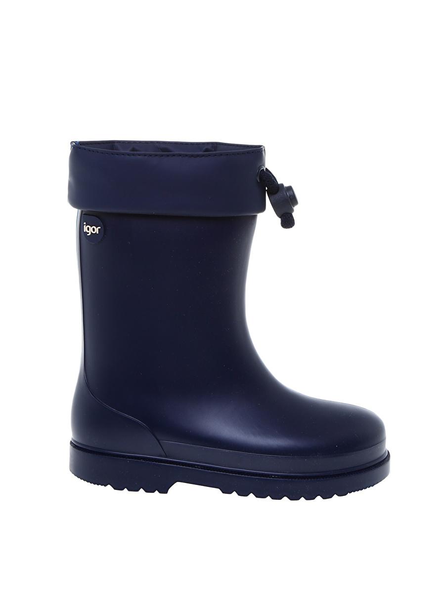 23 Erkek Koyu Lacivert Igor Yağmur Botu Çocuk Ayakkabı Çizme