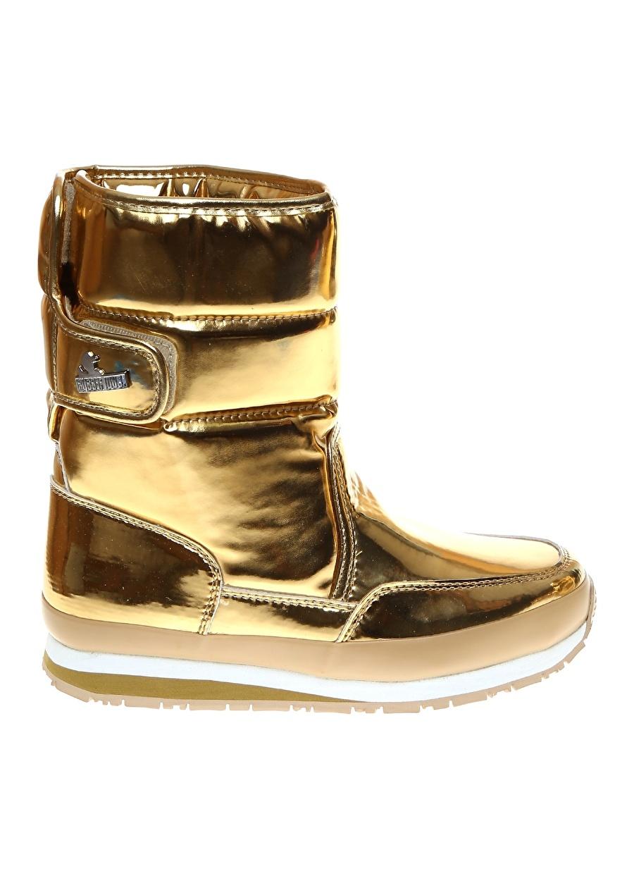 37 Sarı Rubber Duck Kar Botu Ayakkabı Çanta Kadın Çizme
