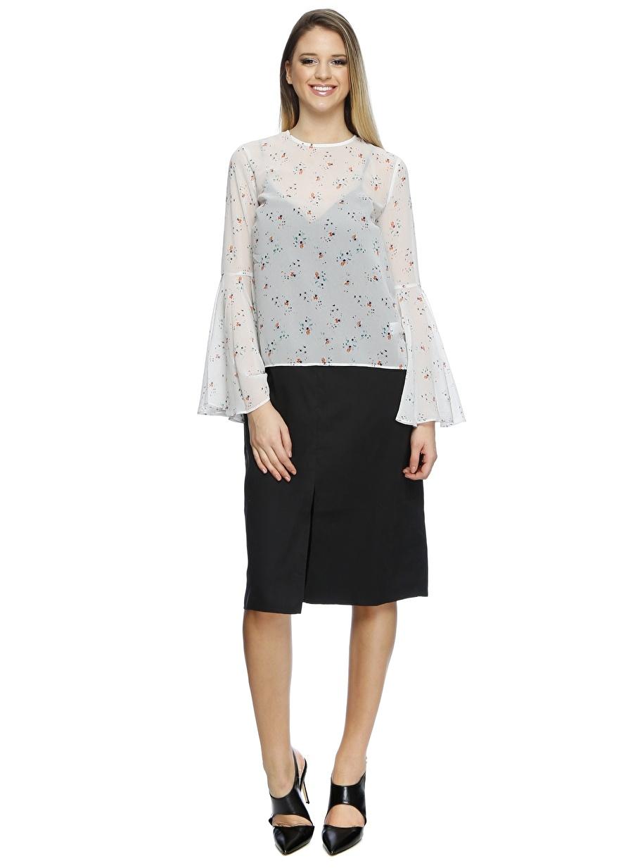 M Açık Beyaz English Factory Bluz Kadın Giyim Gömlek