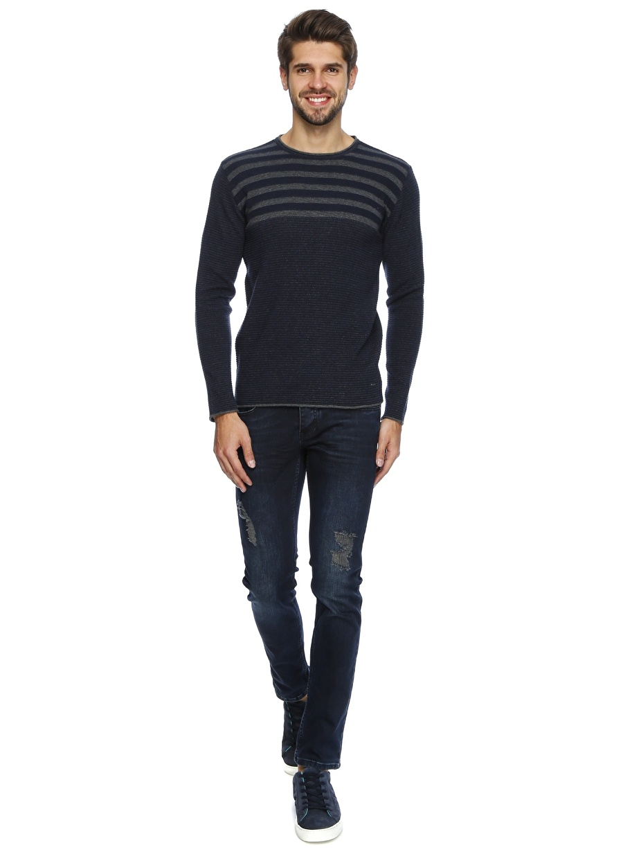 33-34 Renksiz Twister Jeans Denim Pantolon Erkek Giyim