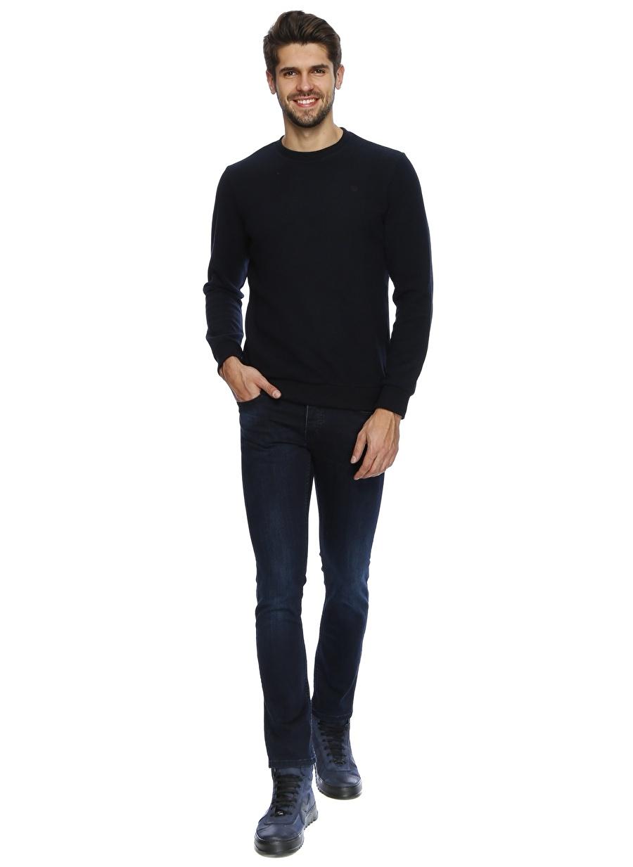 36-34 Renksiz Twister Jeans Lacivert Kot Klasik Pantolon Erkek Giyim